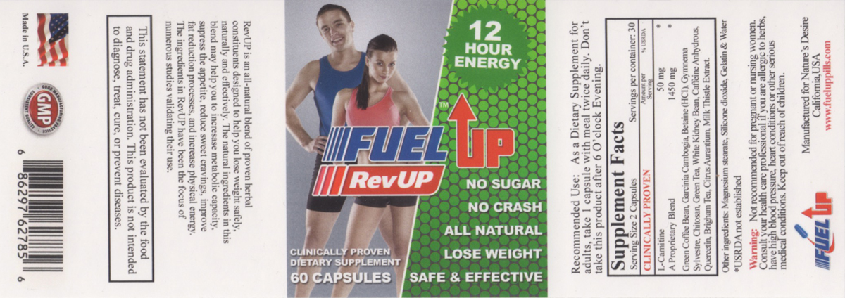 FuelUp Label